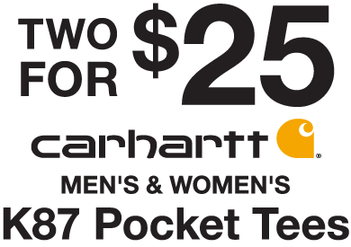 Carhartt K87 2 for $25