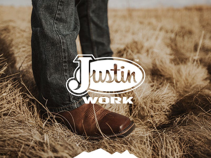 Shop Justin Work Boots